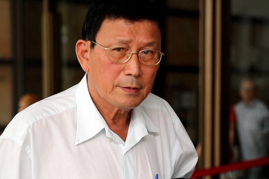 Mr Sherman Loh (left), a fishing buddy of murder victim Tan Boon Sin (above), testified in court yesterday.