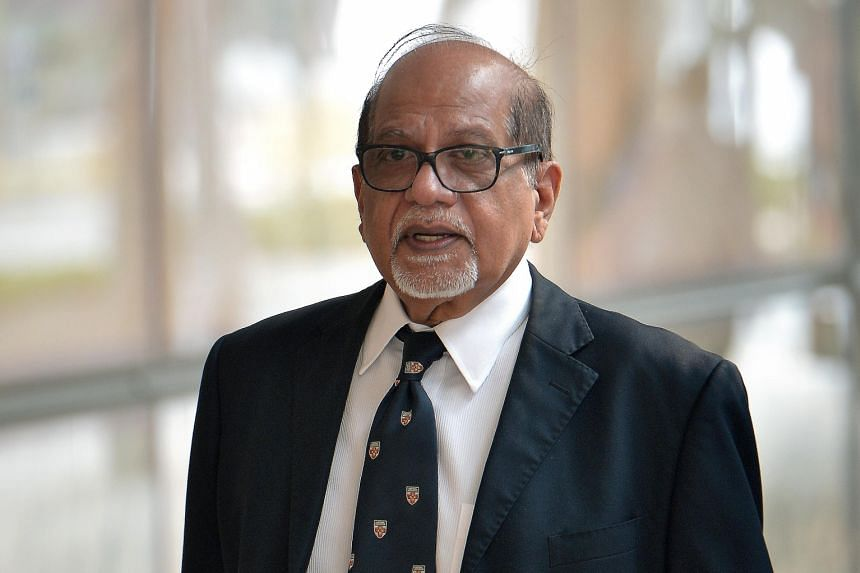 Mr Rengarajoo Rengasamy Balasamy (above) had represented former client Govindasamy Nallaiah during his graft trial. Mr Rengarajoo is expected to testify today.