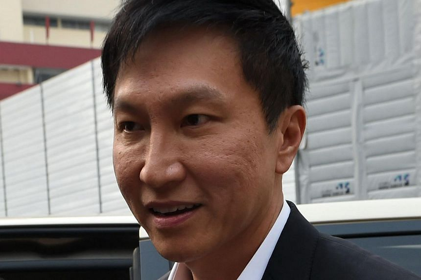 City Harvest Church founder Kong Hee arriving at the State Courts on Oct 21, 2015.