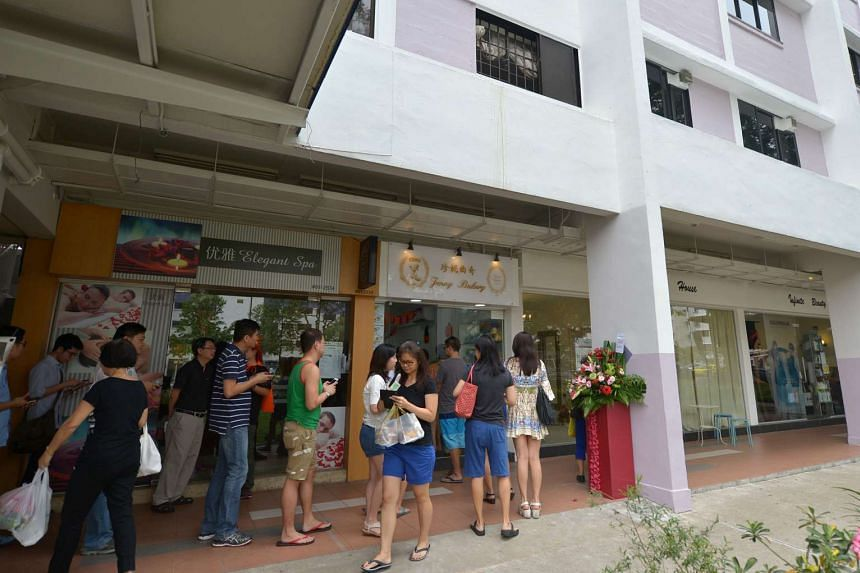 The famous bakery, which has two stores in Hong Kong, opened Friday at Block 422 Ang Mo Kio Avenue 3, 01-2534.
