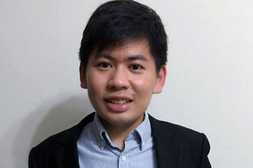 Mr Ng (above) is a fourth-year medical student.