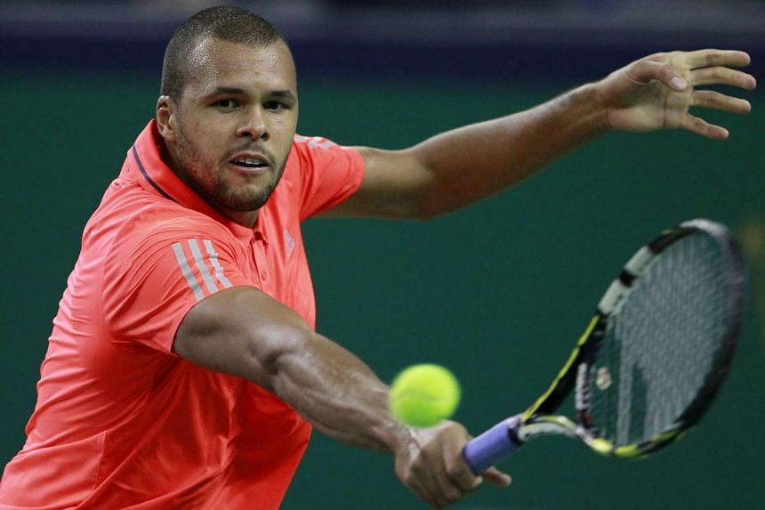 Jo-Wilfried Tsonga (above) has lost ground in his race for a place at the ATP year-end championships.