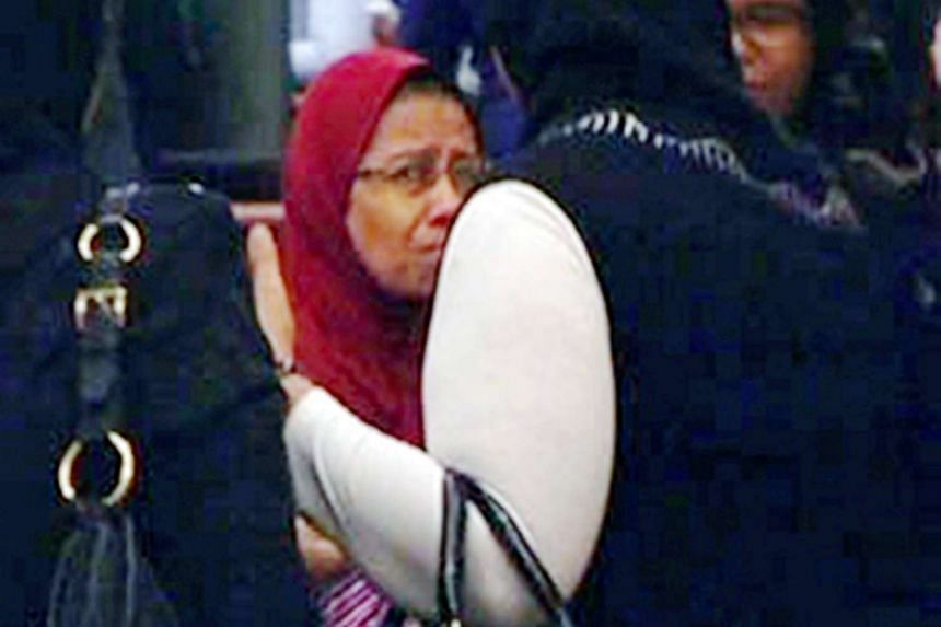 Azizah Md Yusof, a 55-year-old single ­mother, was sentenced to 30 months in jail after she pleaded guilty to the charges on Friday (Oct 23).