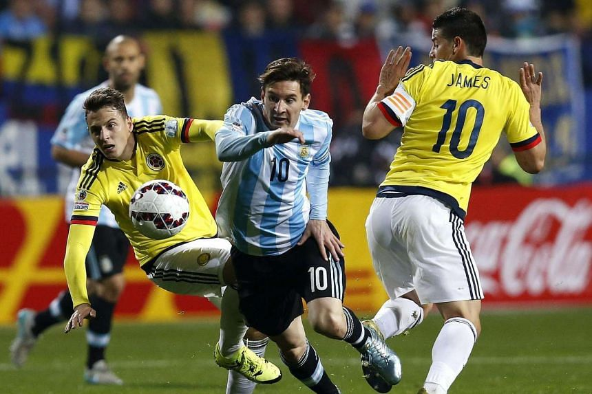 Argentina's Lionel Messi at this year's Copa America. The 2016 edition will be held in the United States.