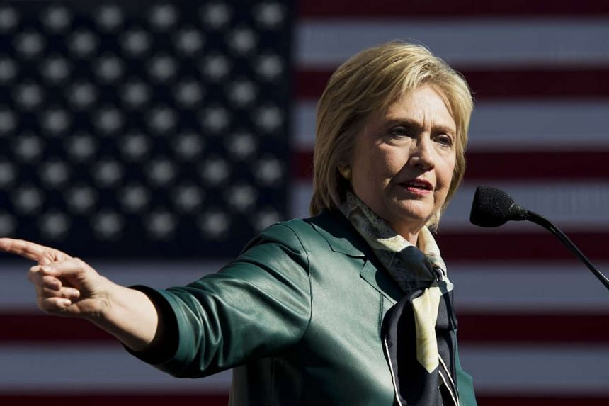 Democratic Presidential hopeful Hillary Clinton speaks during a campaign rally in Alexandria, Virginia on Oct 23, 2015.