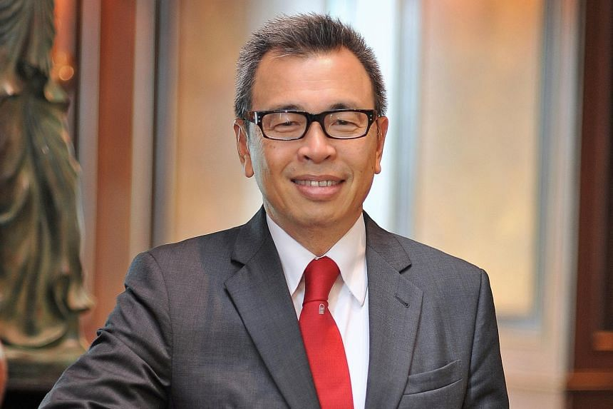 Mr Philip Seah (left) has taken the helm at Prudential Singapore, following the sudden departure of Mr Tomas Urbanec (right). Mr Seah, an industry veteran, has been with the group since 1978.