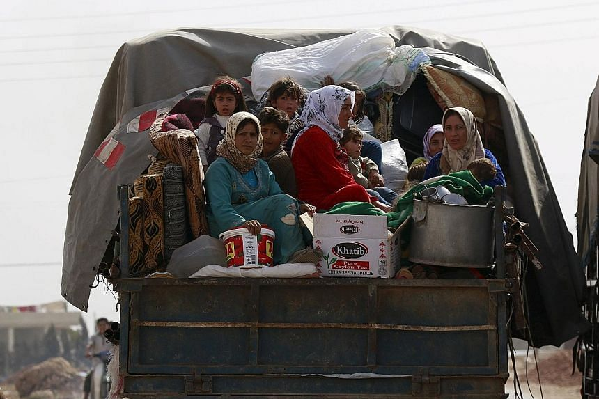 The growing refugee crisis - as tens of thousands of Syrians flee to Europe to escape the war zone - and Russia's military intervention have increased pressure on US President Barack Obama to take more forceful action in Syria.