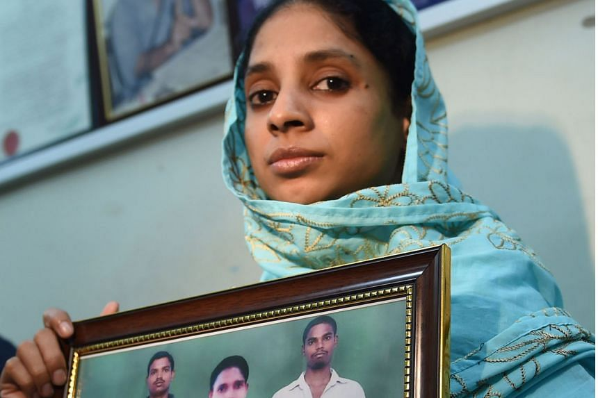 The prospect of a long-awaited reunion comes after Geeta (right) indicated earlier this month that she recognised a photograph of a family from the eastern Indian state of Bihar, sent to her by the Indian authorities.