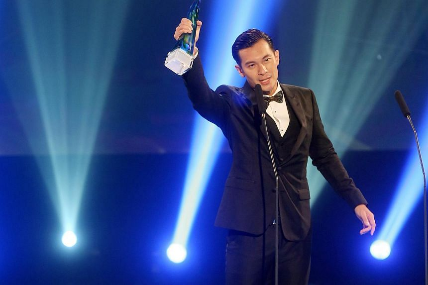 Shaun Chen won the Best Actor award at the Annual Star Awards on Apr 26, 2015.