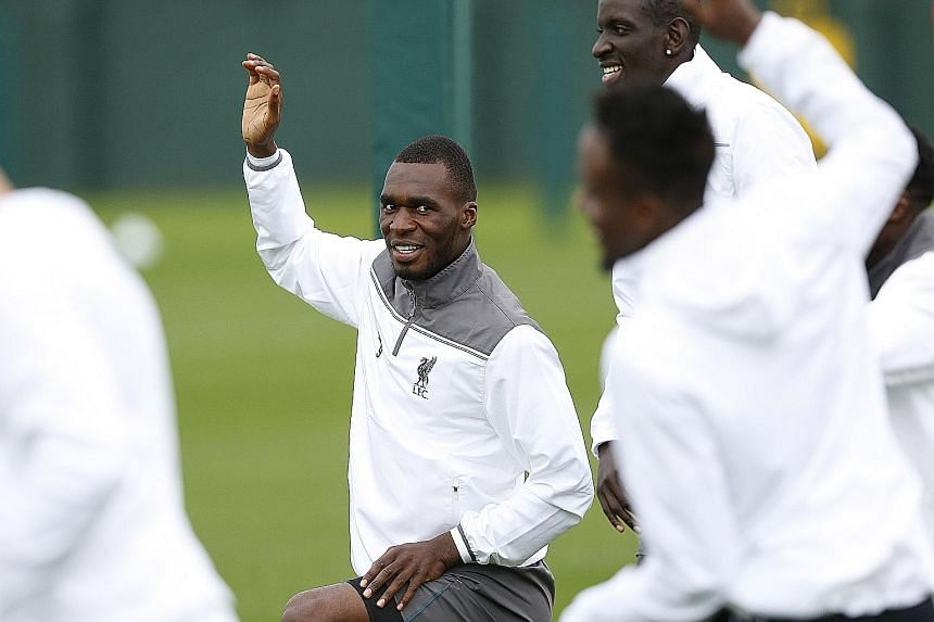 Christian Benteke returned as a substitute against Rubin Kazan in the Europa League on Thursday night and is likely to start today.