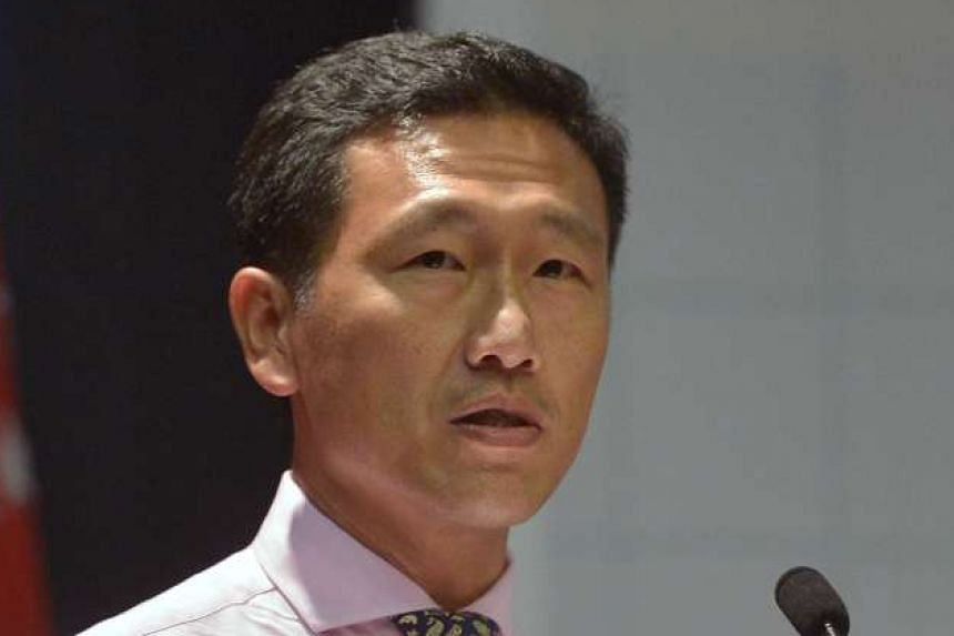 Acting Education Minister Ng Chee Meng will work out the details of the PSLE makeover, while his counterpart Ong Ye Kung (above) focuses on SkillsFuture.