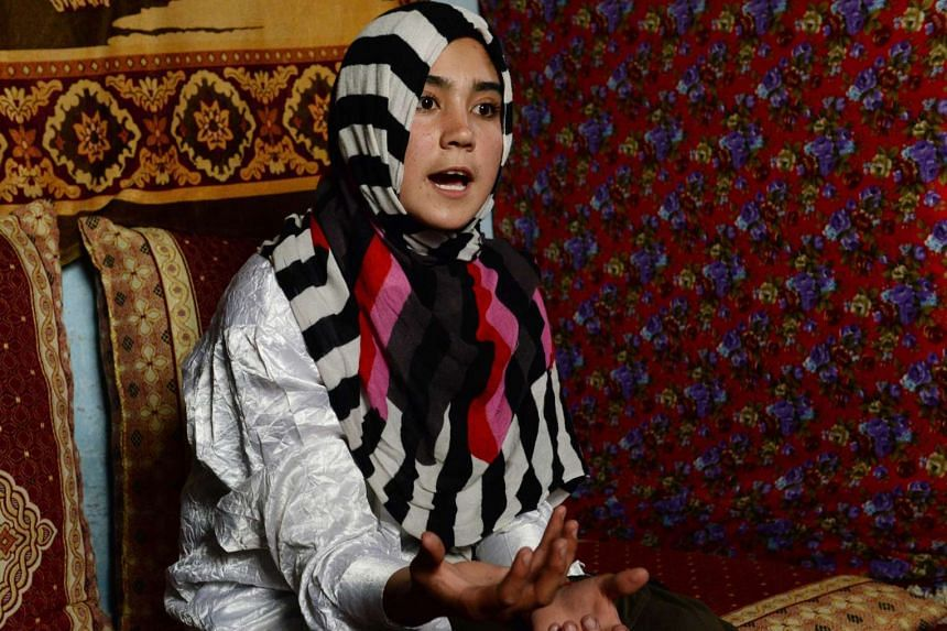 Afghan rights activist Aziza Rahimzada has been nominated for the International Children's Peace Prize for her achievements.