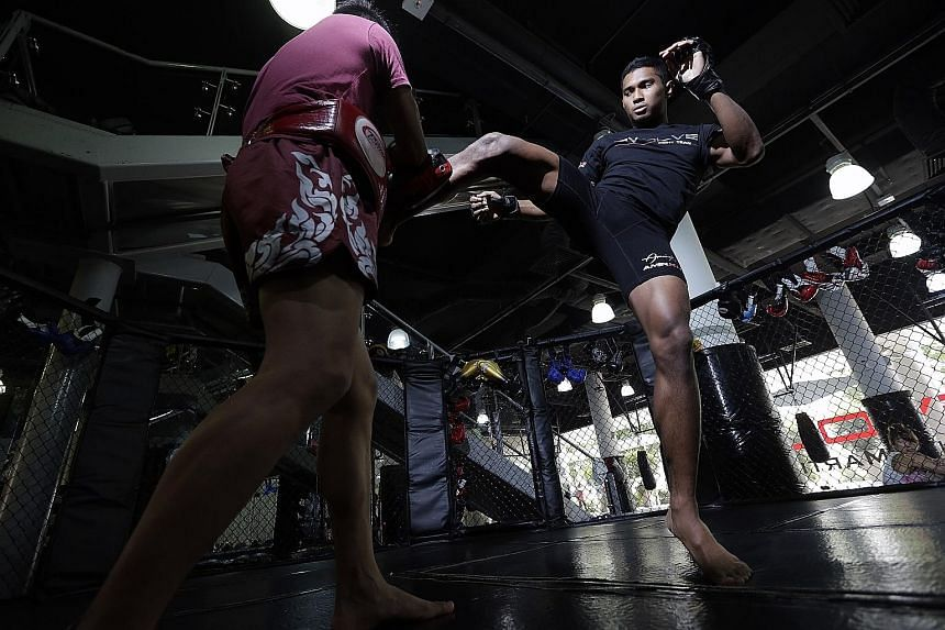 Singaporean Amir Khan, 20, has always faced obstacles. But despite serving full-time NS, he perseveres with a punishing schedule in order to keep alive his ambition of becoming the Republic's first MMA world champion.