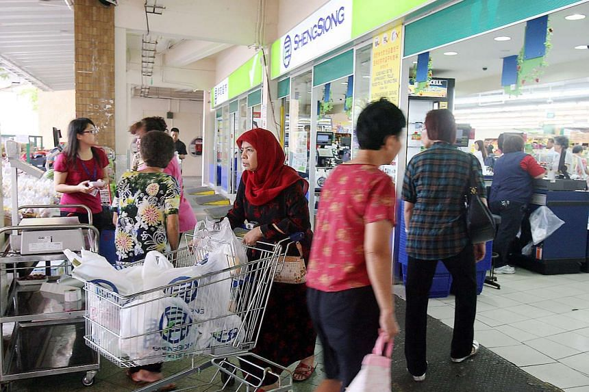 A customised health and exercise programme, meant for supermarket workers, will be showcased at the Sheng Siong Bedok North outlet on Tuesday, Oct 27, 2015.