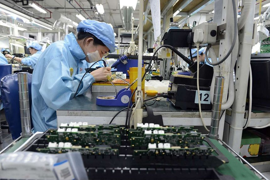 Factory output contracted for the eighth consecutive month in September, performing slightly worse than private-sector forecasters had tipped.