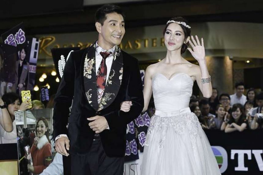 Ruco Chan won for My Favourite TVB Actor and Grace Chan was Best New TVB Artiste.