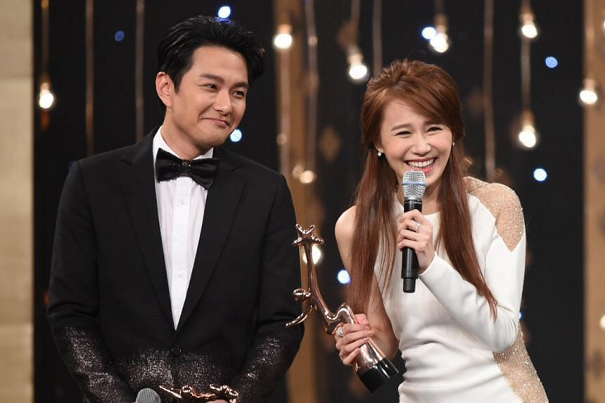 Real-life couple Edwin Siu and Priscilla Wong were voted My Favourite TVB On-screen Couple.
