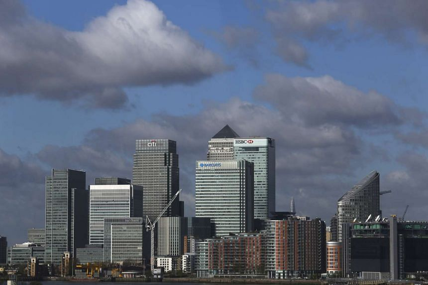 Britain's third quarter GDP slowed to 0.5 per cent in the three months to September, the Office for National Statistics said on Tuesday, Oct 27, 2015.