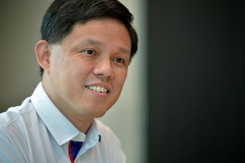 Labour chief Chan Chun Sing.