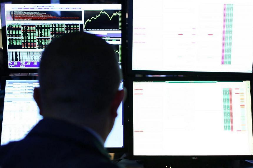 A trader on the New York Stock Exchange on Oct 22, 2015.