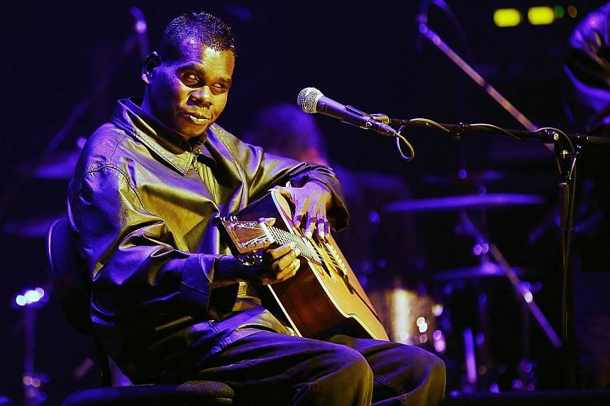 Gurrumul's music evokes the stories of his tribe and ancestors.