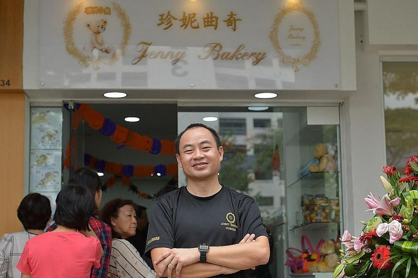 Mr Lawrence Lim, managing director of the bakery.