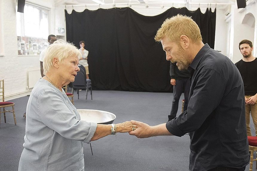 Kenneth Branagh Theatre Company is rolling out seven plays in its year-long season, including Shakespeare's The Winter's Tale, in which actor Branagh is co-starring with Judi Dench (both left).