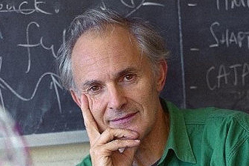 PROFESSOR HAROLD KROTO (CHEMISTRY, 1996)