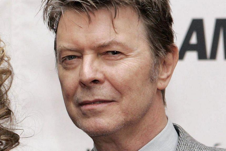 British musician David Bowie in a 2006 file photo.