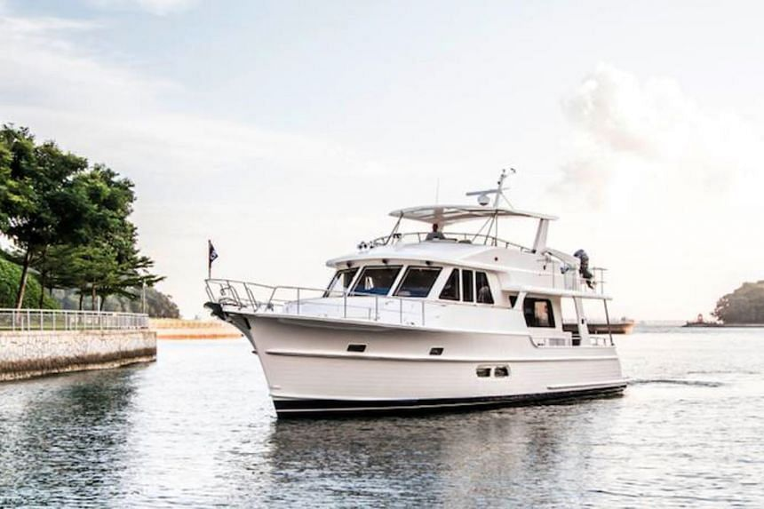 A file picture of the Grand Banks 55 Aleutian RP yacht. PHOTO: Grand Banks Yachts Ltd
