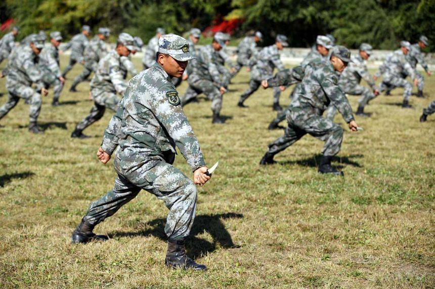 """Enemy forces in the West are trying to """"falsify"""" the history of China's ruling Communist Party and its military and force a """"colour revolution"""" on troops who are too susceptible to outside influences."""