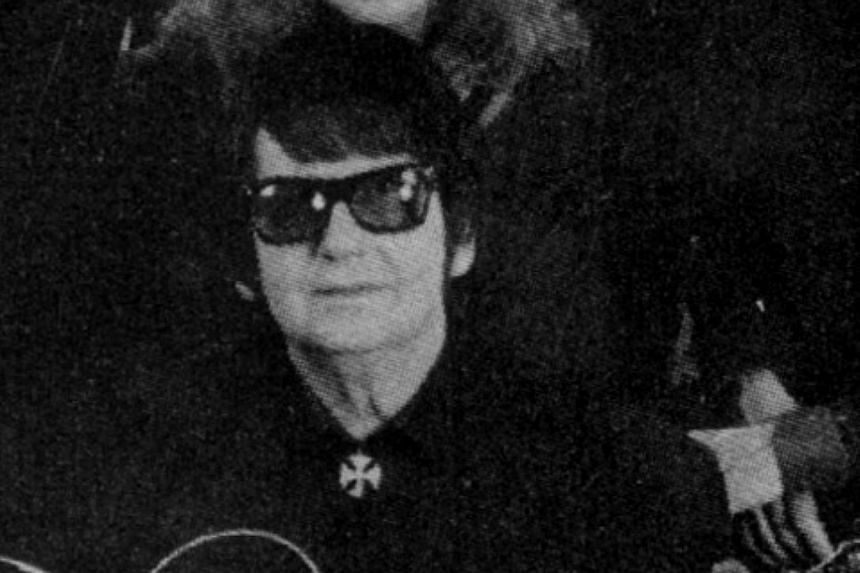 Roy Orbison as seen during his comeback just prior to his sudden death in 1988.