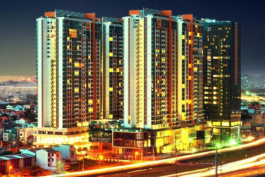 The Vista, a 750-unit development in Ho Chi Minh's District 2 by CapitaLand.