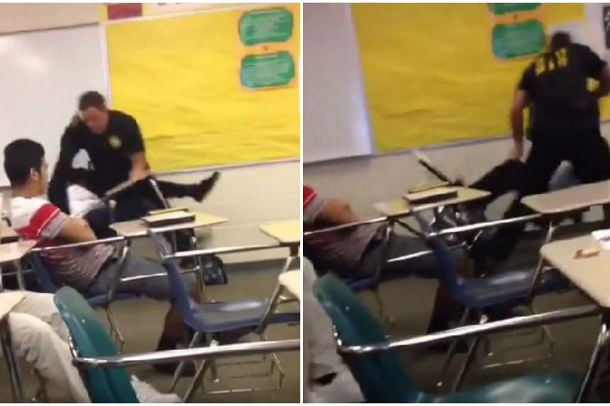 Richland County Sheriff's Deputy Ben Fields is under investigation for his treatment of a female student during an arrest.