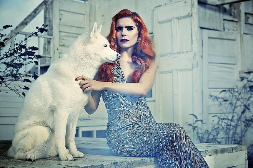 Singer Paloma Faith will perform at Marina Bay Sands on Friday.