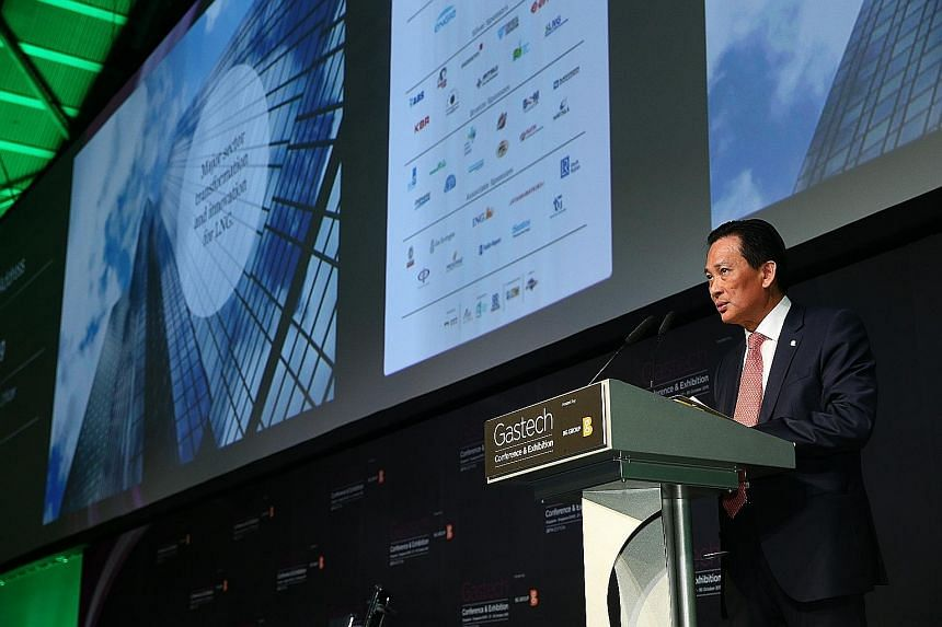 Mr Seah Moon Ming told the Gastech Singapore conference yesterday how home-grown Pavilion Energy is growing its business despite the LNG industry slowdown by working with Russian, Chinese and Japanese firms.