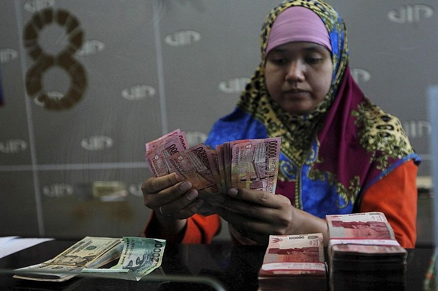Counting the cost: Indonesia's banking industry is focused on retail banking, leaving it to vulnerable to the global slowdown.