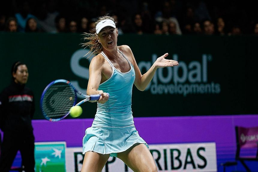 Maria Sharapova says satisfaction comes from finding a way to get past an opponent on court when the going gets tough.