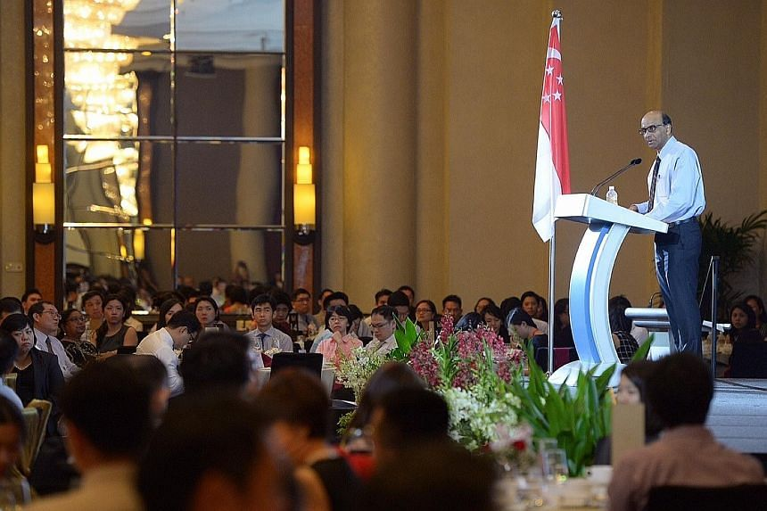 Coordination between different government agencies must become second nature, DPM Tharman told about 600 public servants at the Public Service Leadership Programme dinner yesterday.