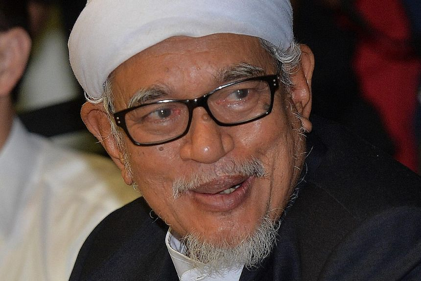 PAS president Abdul Hadi Awang Hadi also dashed any hopes that his party would join newly formed opposition coalition Pakatan Harapan.