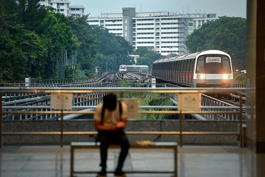 SMRT's core MRT business incurred an operating loss of $2.8 million, from a profit of $7.6 million previously. Its LRT saw losses widen to $1.2 million from $705,000.