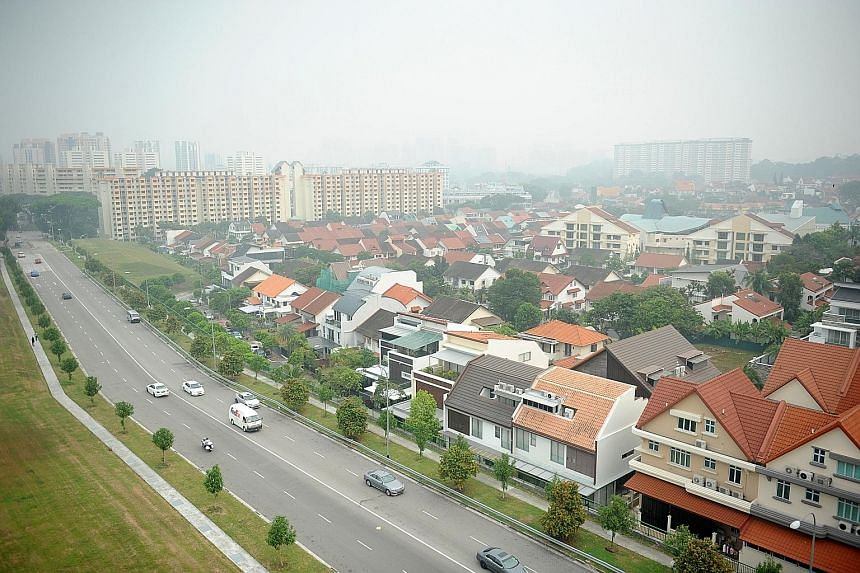 MAS says that larger-than-expected sales volume adjustments during property market upswings or downswings likely reflect the role of developers in managing their inventories, such as developers holding back on releasing new units during cyclical down