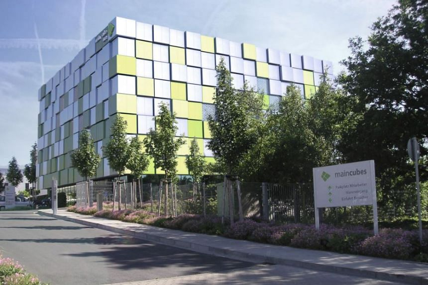 An artist's impression of the mainCubes data centre in Offenbach am Main, in Germany.