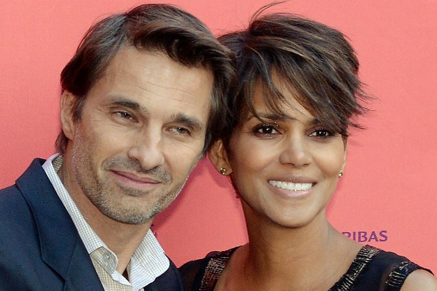 US actress Halle Berry poses with French actor Olivier Martinez in happier times.