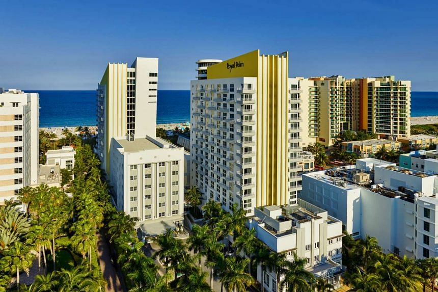 New York-listed Starwood Hotels launched the Royal Palm South Beach Miami in Florida on April 9, 2015.