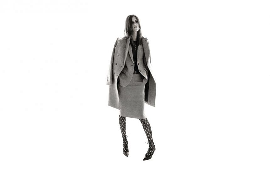 The Uniqlo x Carine Roitfeld collection, which will launch in Singapore on Friday, Oct 30, 2015.