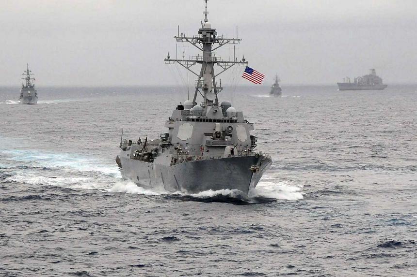 The USS Lassen in 2009.