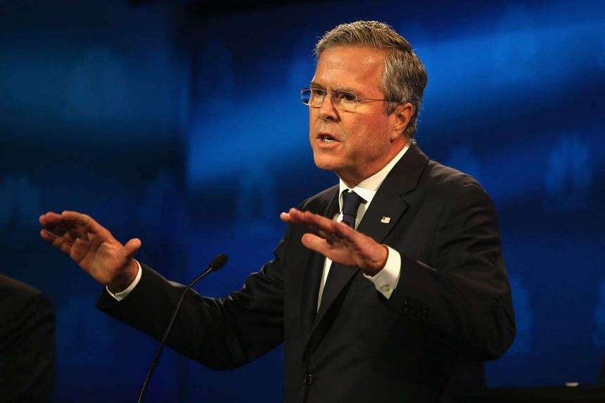 Presidential candidate Jeb Bush speaking during the CNBC Republican Presidential Debate at the University of Colorado's Coors Events Centre in Boulder, Colorado on Oct 28, 2015.