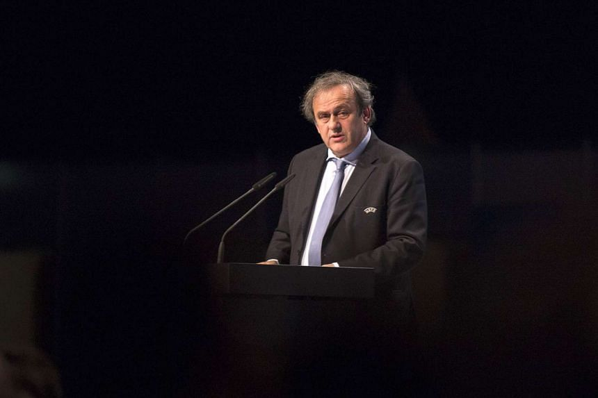 Uefa head Michel Platini said he was the only person with the vision to lead soccer's world governing body Fifa out of a corruption scandal, on Oct 29, 2015.