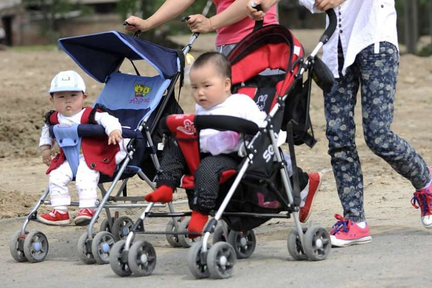 China's ruling Communist Party said on Thursday (Oct 29) it will ease family planning restrictions to allow two children for all couples.